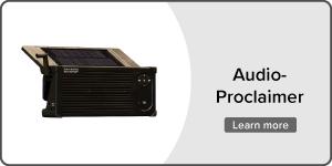 Audio Proclaimer