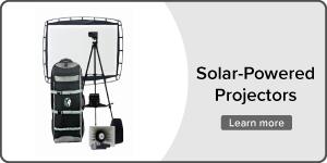 Solar-Powered Projectors