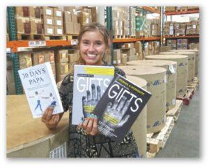 Sammi Gainer, Volunteer. Watch her tour of FMP at foursquaremissionspress.org