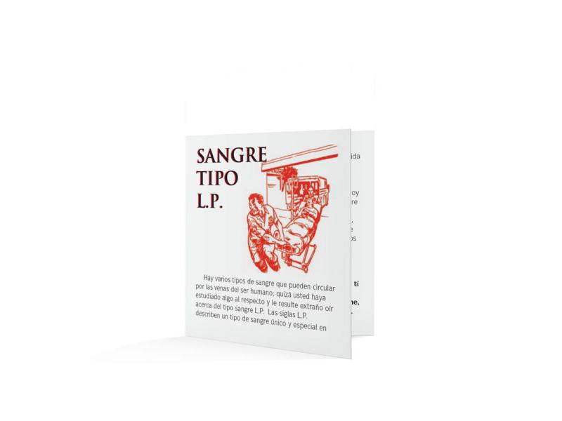 Blood Type LP-Spanish