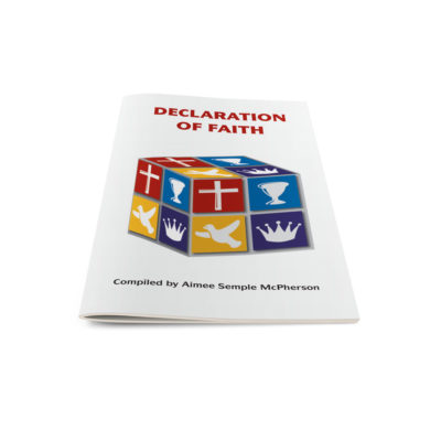 Declaration of Faith-English
