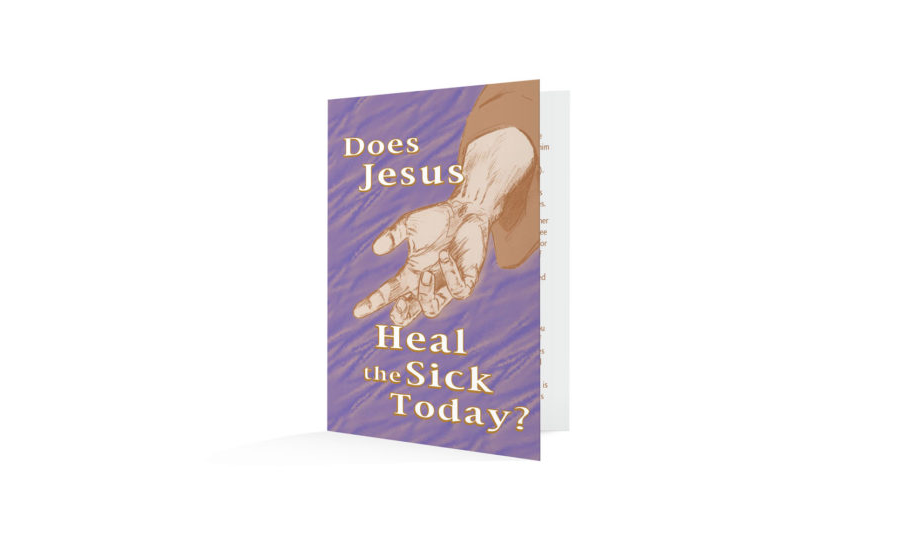 Does Jesus Heal The Sick Today-English