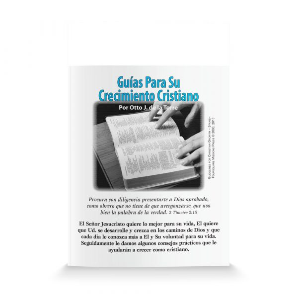 Guidelines For Christian Growth-Spanish