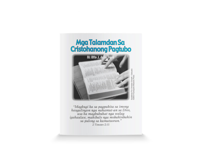 Guidelines for Christian Growth-Cebuano