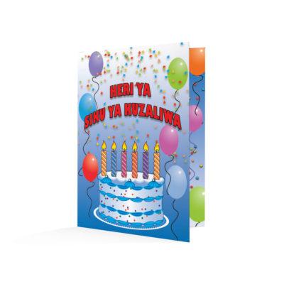 Happy Birthday-Swahili