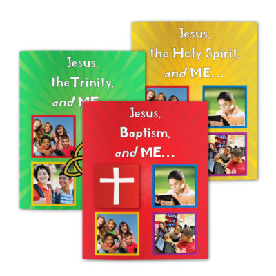 The Jesus and Me Series (3 book set)-English