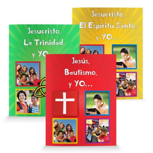 The Jesus and Me Series (3 book set)-Spanish