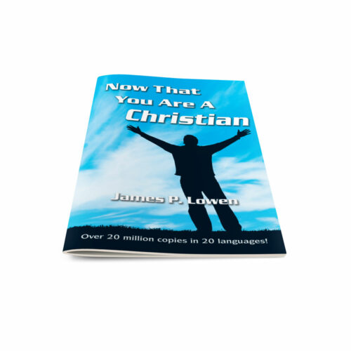 Now That You Are a Christiann-Self Cover-English
