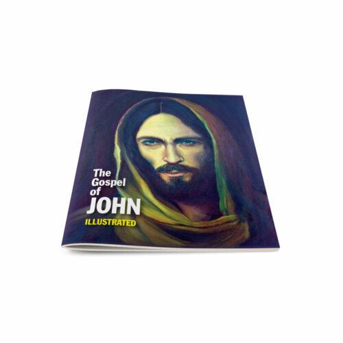 Pocket Testament-Gospel of John-Illustarted-English