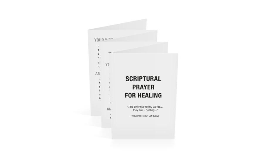 Scriptural Prayer of Healing-English