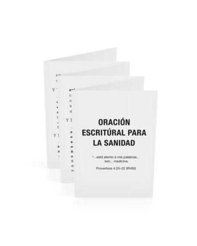 Scriptural Prayer of Healing-Spanish