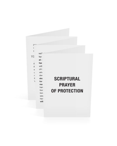 Scriptural Prayer of Protection-English