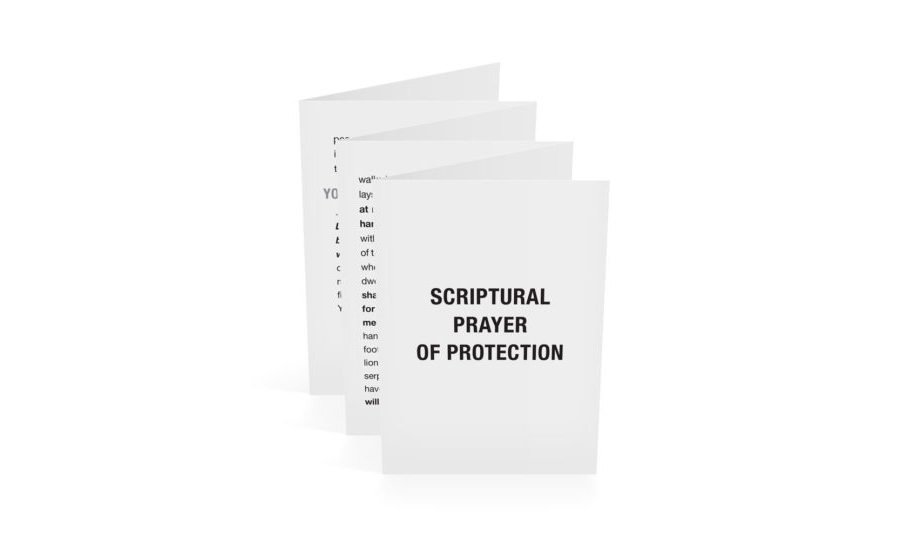 Scriptural Prayer of Protection-English