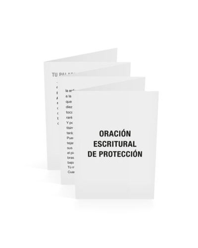 Scriptural Prayer of Protection-Spanish