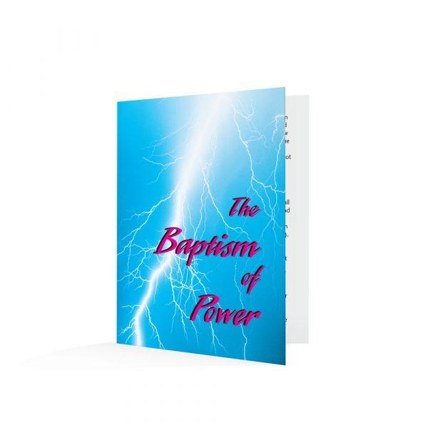 The Baptism of Power-English