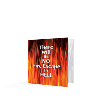 There Will Be No Fire Escape in Hell-English